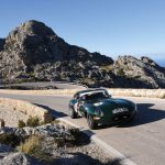 Oris Rally Clasico:Neunter in der Wertung Competition VHC: der Jaguar E-Type von Francisco Javier Ortega und Enrique Salar