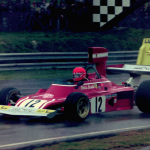 "Ferrari 312 B3 Niki Lauda mit ""010"" beim ""Race of the Champions"" in Brands Hatch 1974"
